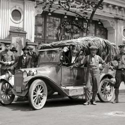 Американский тюнинг автомобиля в начале прошлого века
