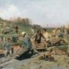 О чём говорит картина «Ремонтные работы на железной дороге»