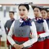 Обучение стюардесс по-китайски