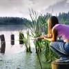 На рыбалку с его друзьями