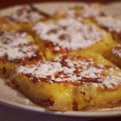 Лимонно-сахарный десерт