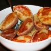Печеная картошка с чесночно-укропным маслом