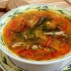 Суп из кильки в томате. Быстро, недорого и очень вкусно
