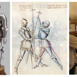 Упражнения французского рыцаря XIV века