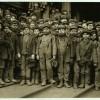 Рабочие дети США в 1908 году